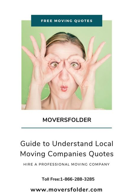 Local moving company quotes
