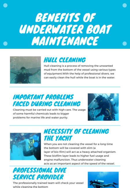 Benefits of underwater boat maintenance