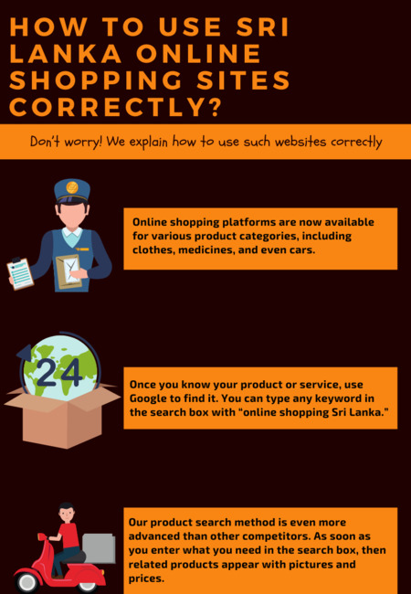 How to use sri lanka online shopping sites correctly