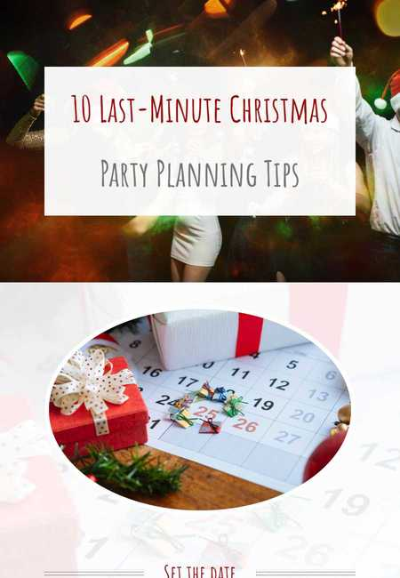 10 last minute christmas party planning tips