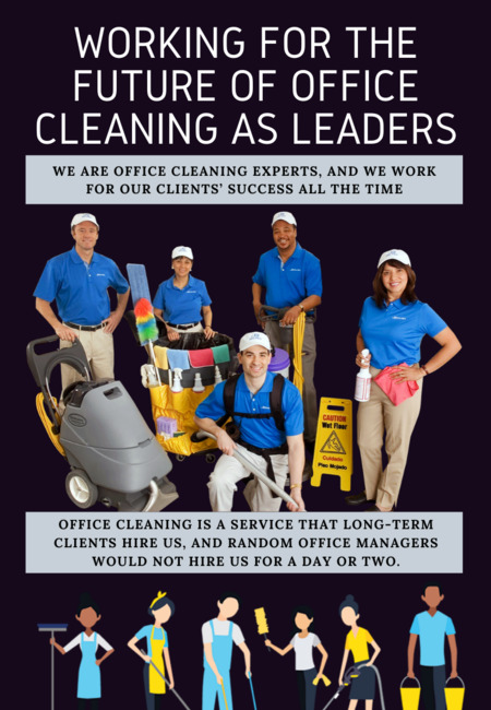 Working for the future of office cleaning as leaders