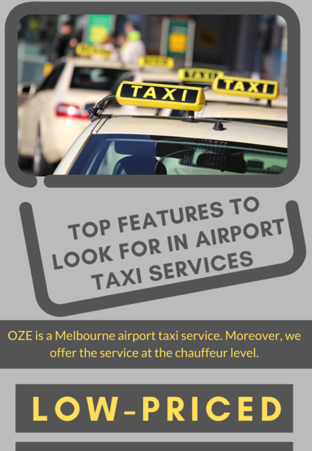 Top features to look for in airport taxi services