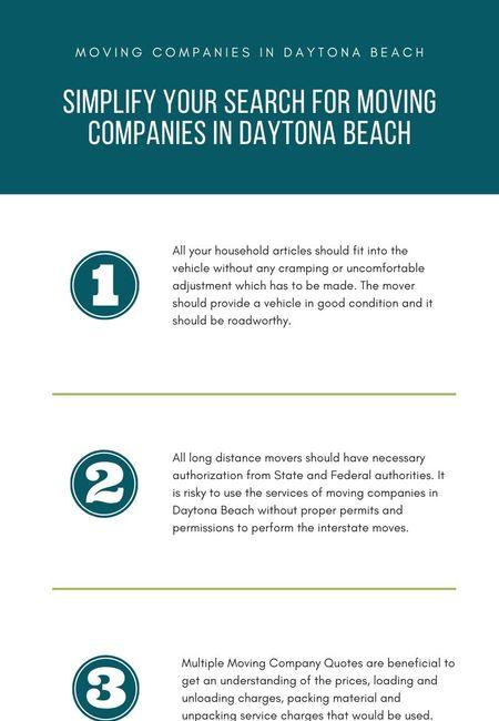 Moving companies in daytona beach