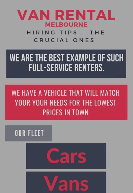 Van rental melbourne hiring tips %e2%80%94 the crucial ones