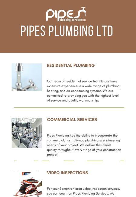 Plumbing service edmonton