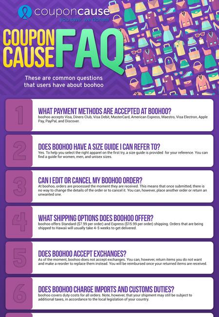 Boohoo promo codes infographic 1560872405