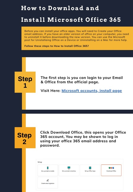 How to download and install microsoft office 365