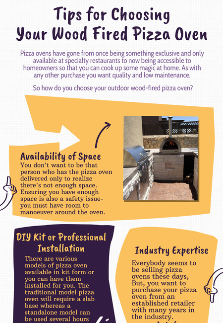 Tips for choosing your wood fired pizza oven