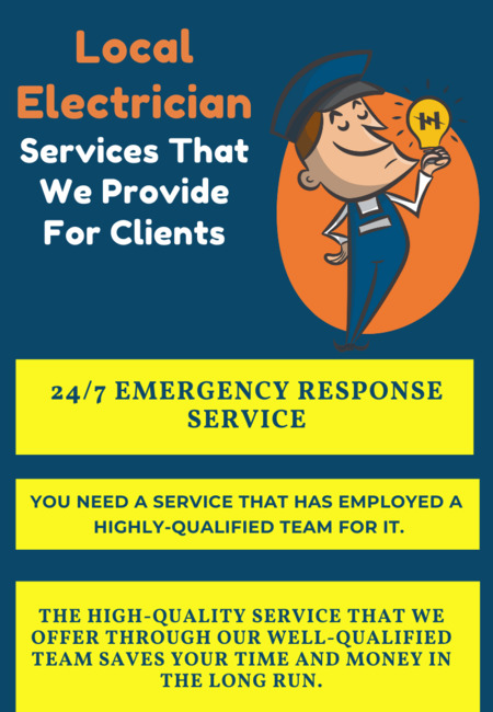 Local electrician services that we provide for clients (3)
