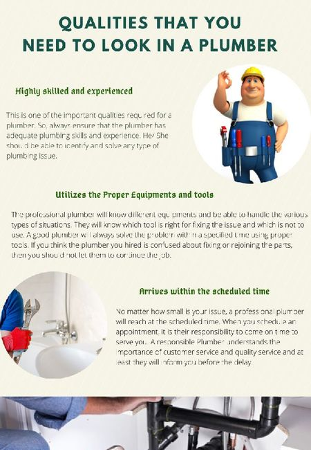 Qualities that you need to look in a plumber1