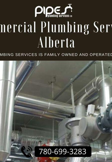 Commercial plumbing services alberta