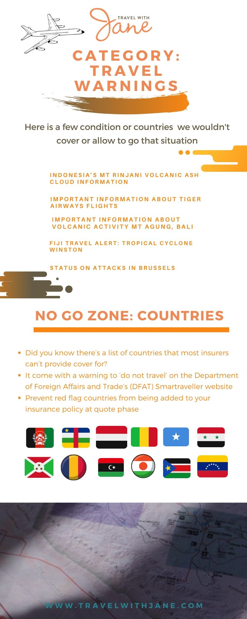 travel warnings