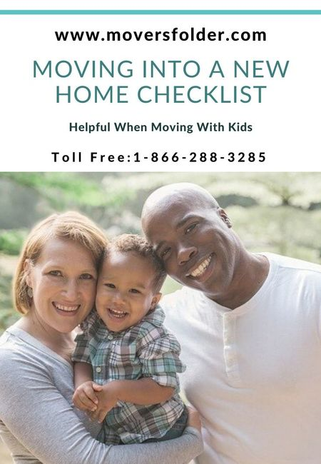 Moving to a new house checklist