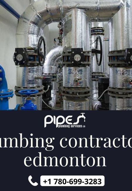 Plumbing contractors edmonton