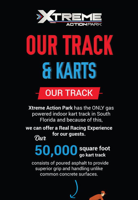 Our tracks and race karts in south florida