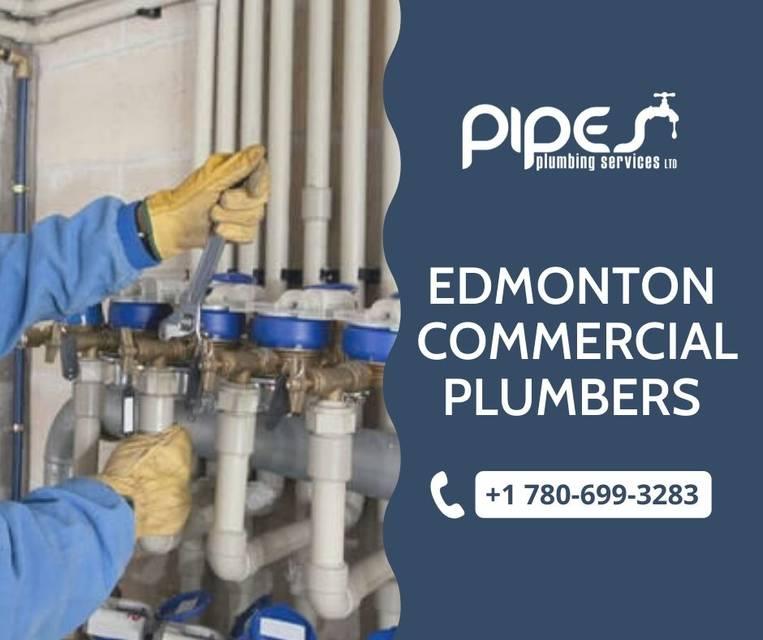 Edmonton commercial plumbers