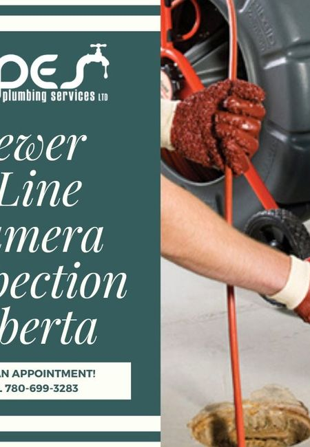 Sewer line camera inspection alberta