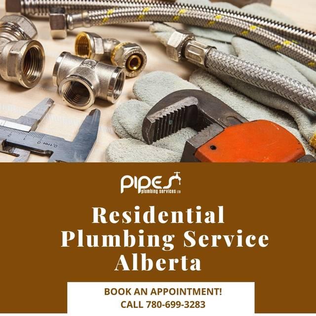 Residential plumbing service alberta