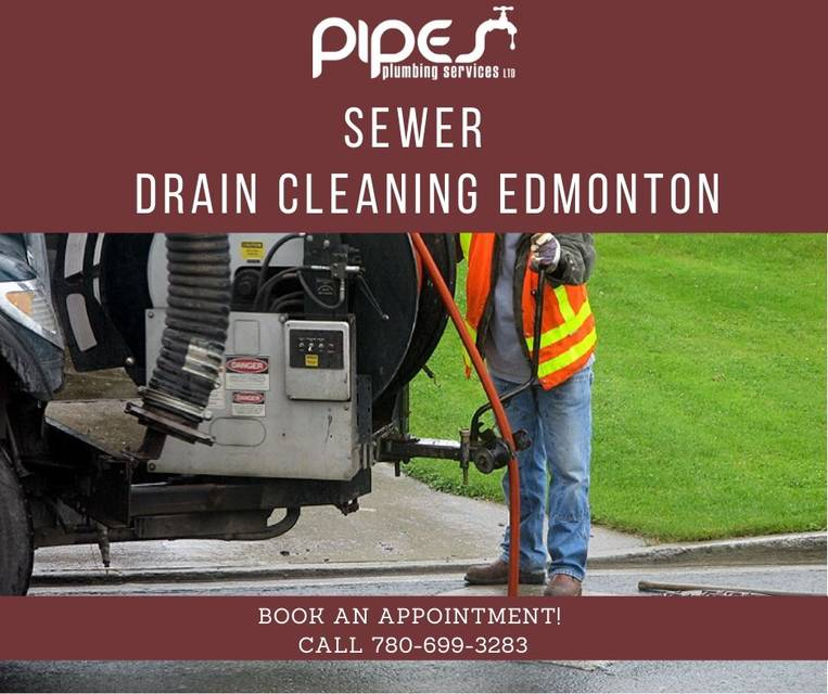 Sewer drain cleaning edmonton