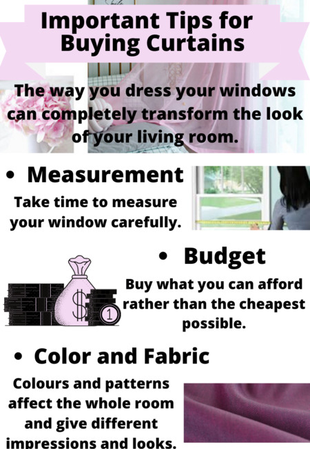 Important tips for  buying curtains