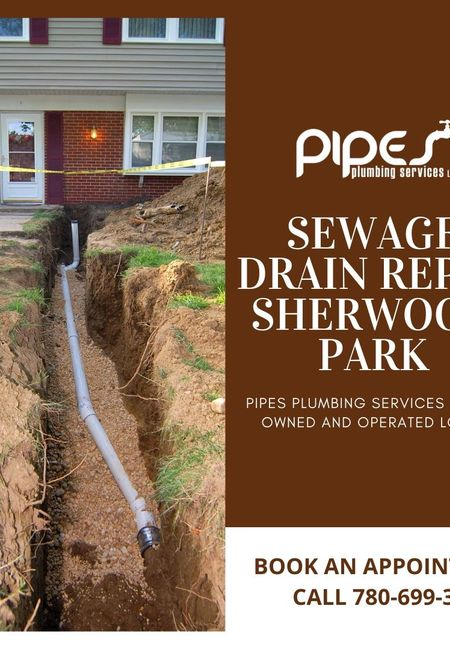 Sewage drain repair sherwood park