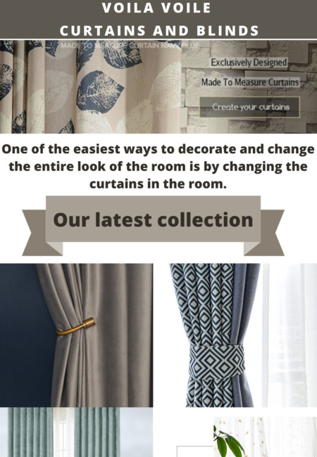 Made to measure voile curtains online