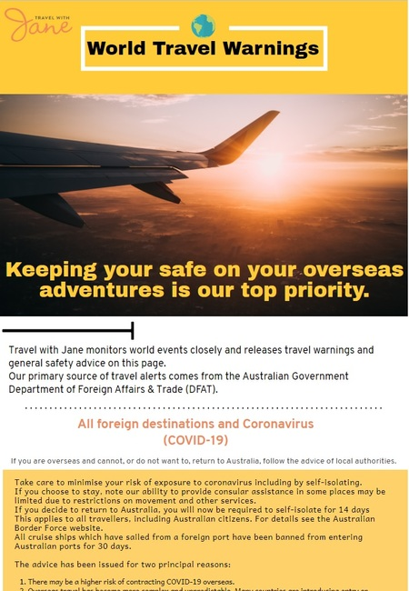 Australian travel warnings (1)