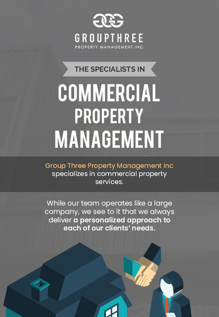 Choose group three for professional commercial property management in edmonton