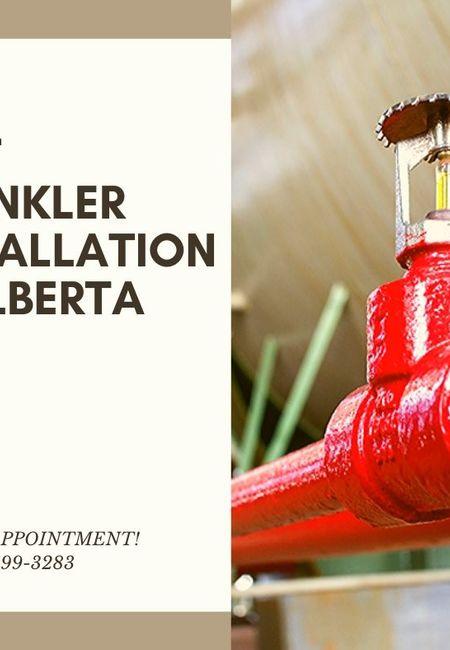 Best sprinkler installation in alberta