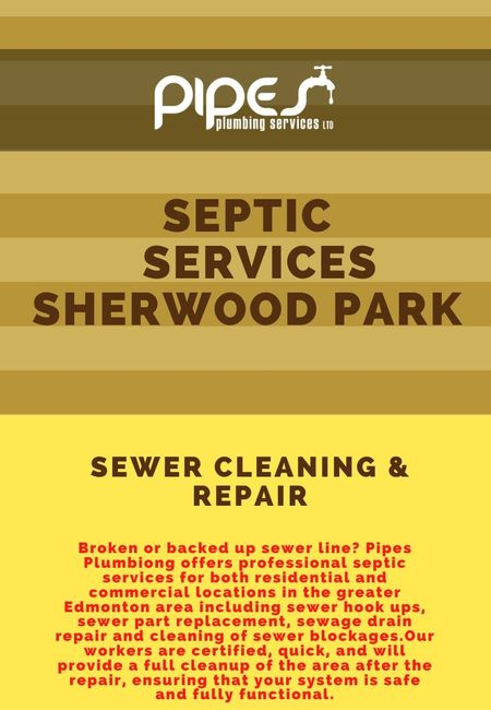 Septic services sherwood park