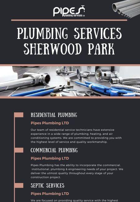Plumbing services sherwood park