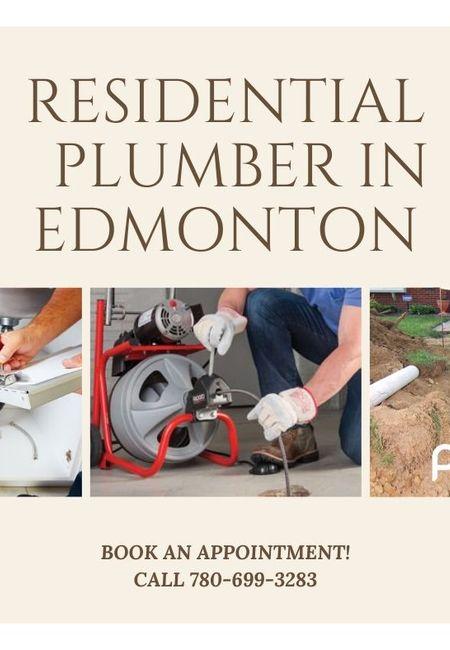 Residential plumber in edmonton