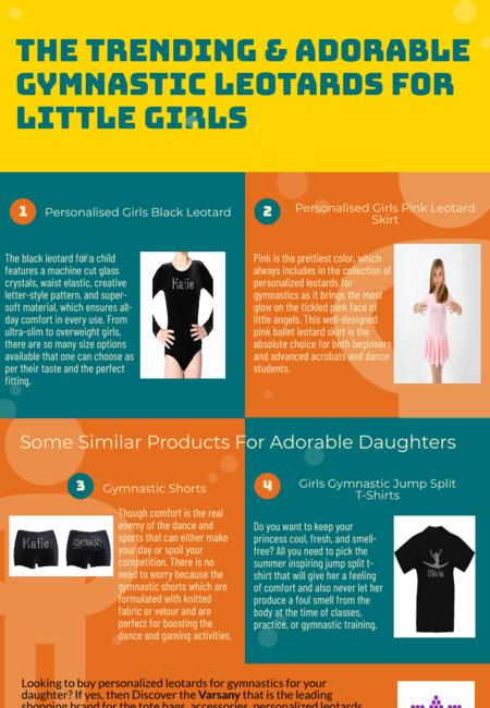 The trending   adorable gymnastic leotards for little girls