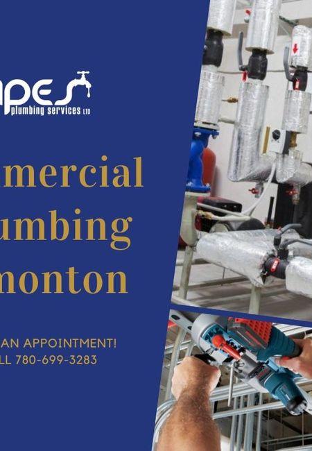 Commercial plumbing edmonton