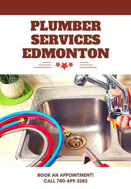 Plumber services edmonton