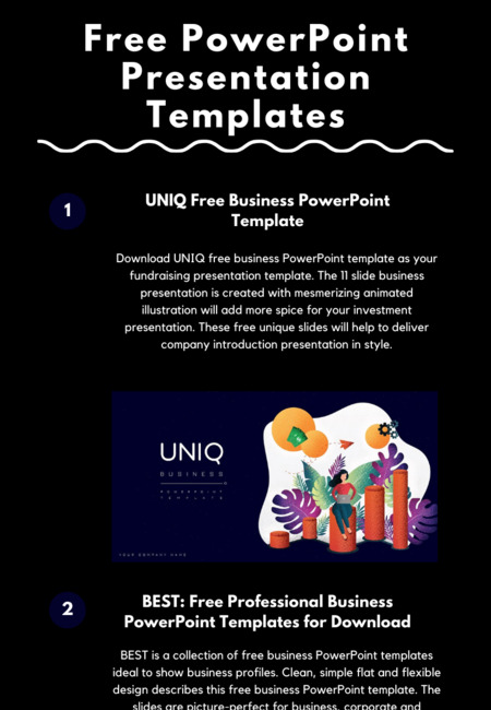 Free powerpoint presentation templates (1)