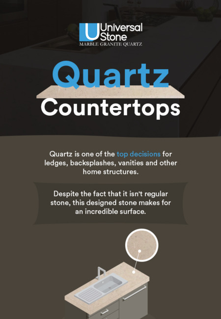Get a wide range of quartz countertops in charlotte  nc from universal stone