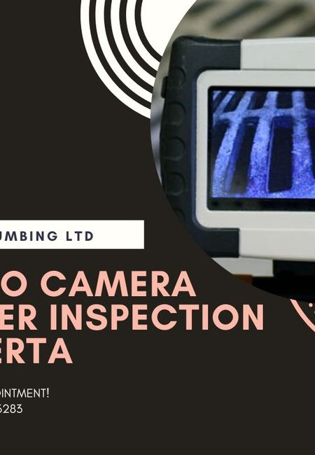 Video camera sewer inspection alberta