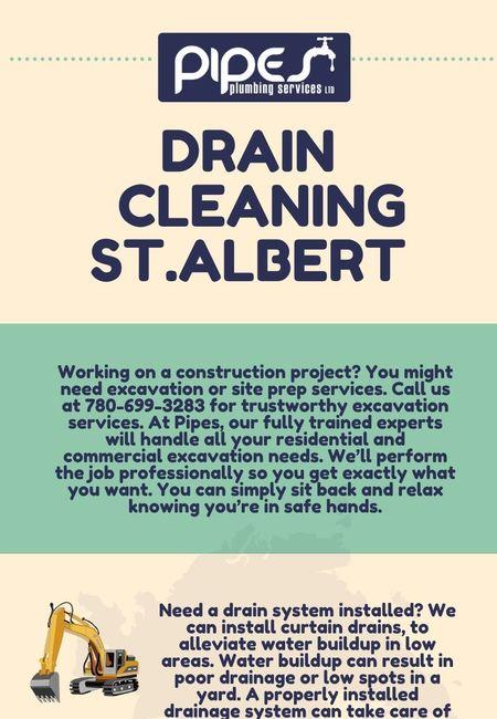 Drain cleaning st.albert