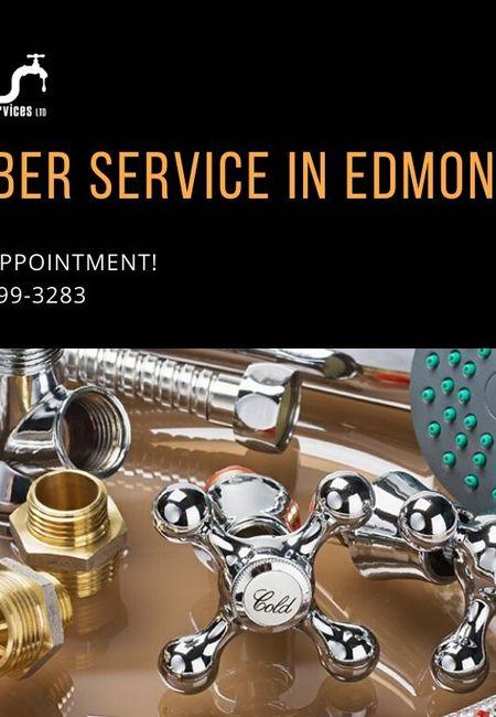 Plumber service in edmonton