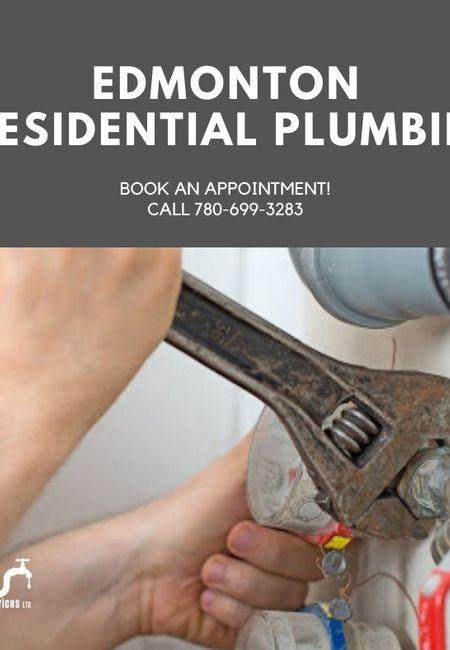 Edmonton residential plumbing