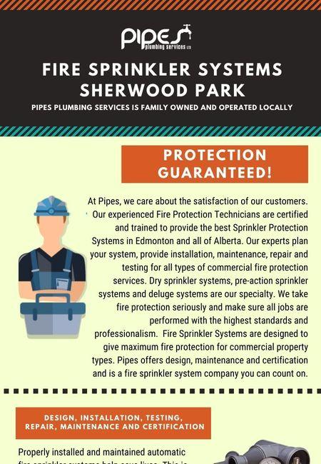 Fire sprinkler systems sherwood park