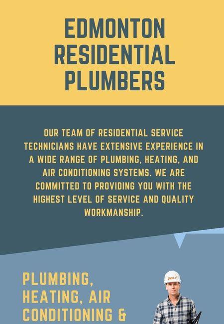 Edmonton residential plumbers