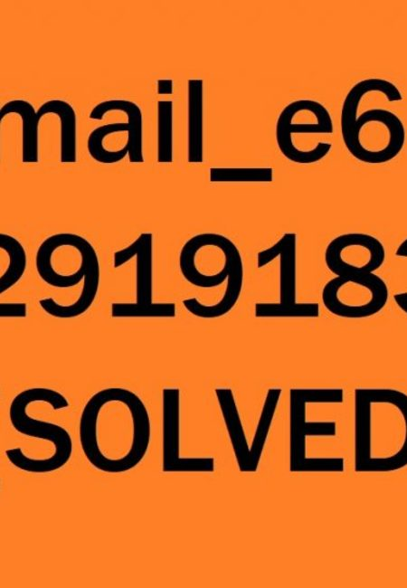 How to fix pii email e6af9796c02919183edc