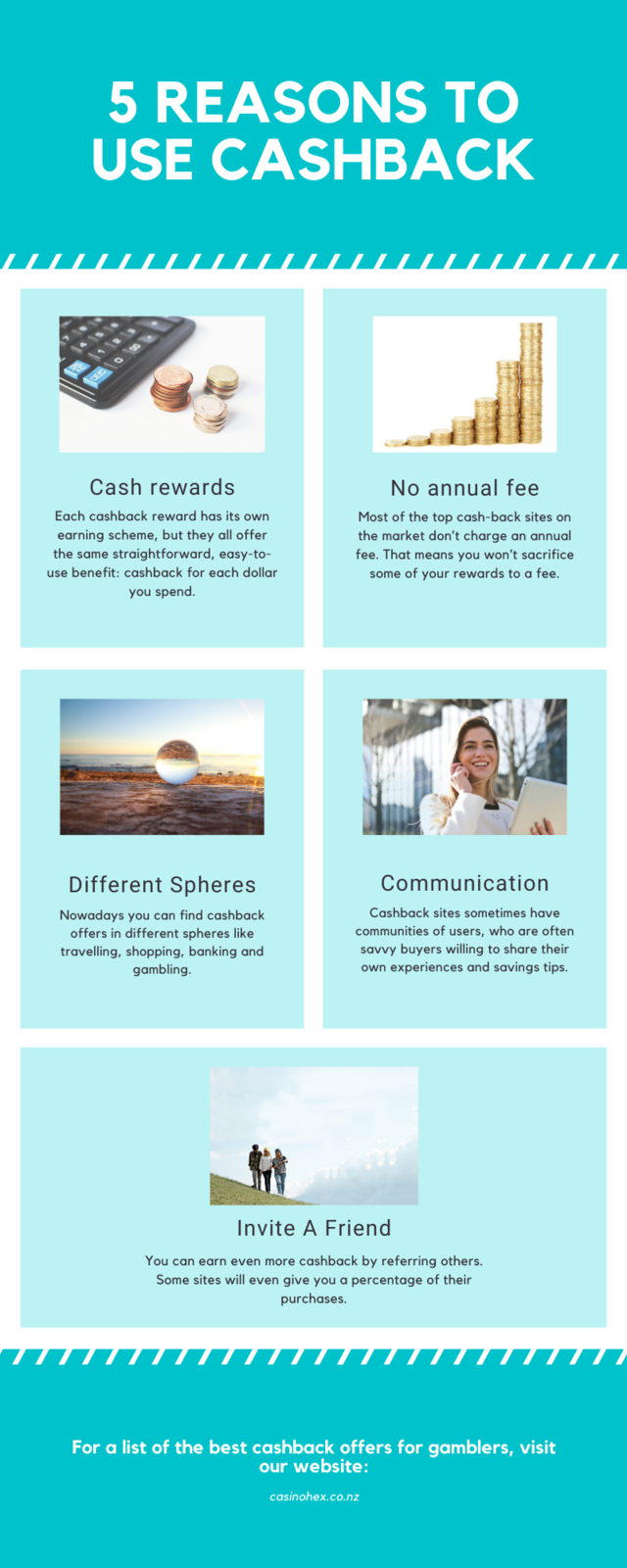 Red reasons to give to charity infographic