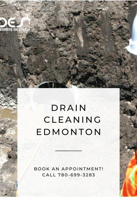 Drain cleaning edmonton