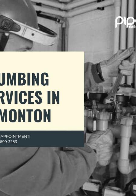 Plumbing services in edmonton