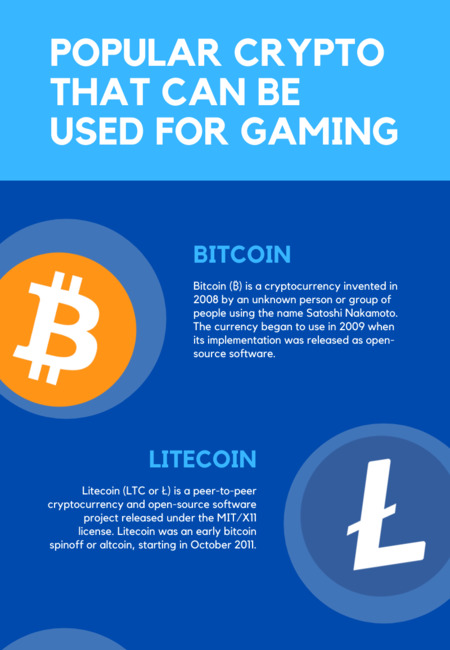 Popular crypto that can be used for gaming