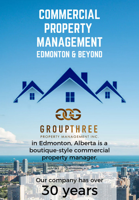 Get excellent commercial property management services in edmonton from group three
