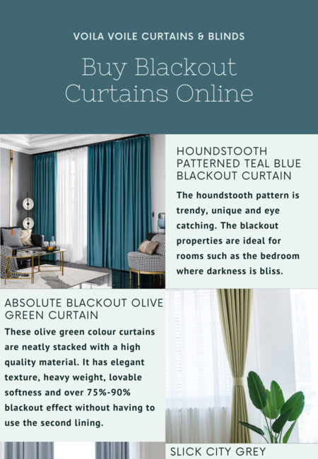 Buy blackout curtains online
